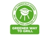 Greener way to grill logo (R)