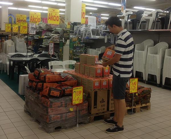 Grillcube in Carrefour Slovakia